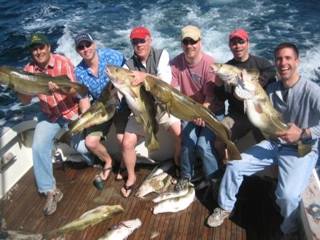 Gloucester Cod Fishing AT&T Gays on Tuna Hunter